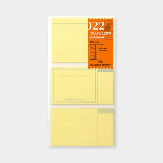 Traveler's Company - Accessories - Regular - 022 Sticky Notes