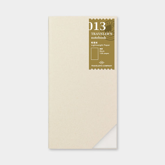 Traveler's Company - Inserts - Regular - 013 Lightweight Paper
