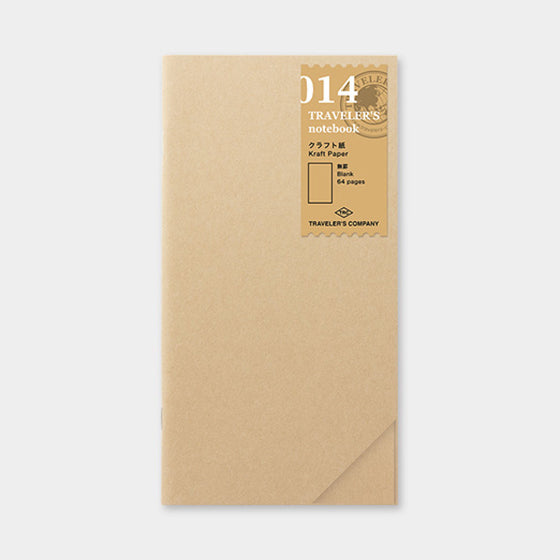 Traveler's Company - Inserts - Regular - 014 Kraft Paper
