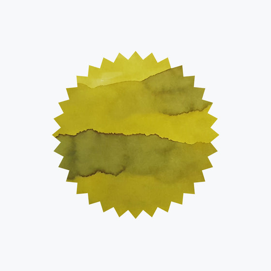 Chartreuse ink swatch