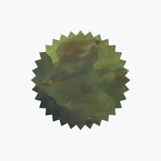 Crocodile Green ink swatch