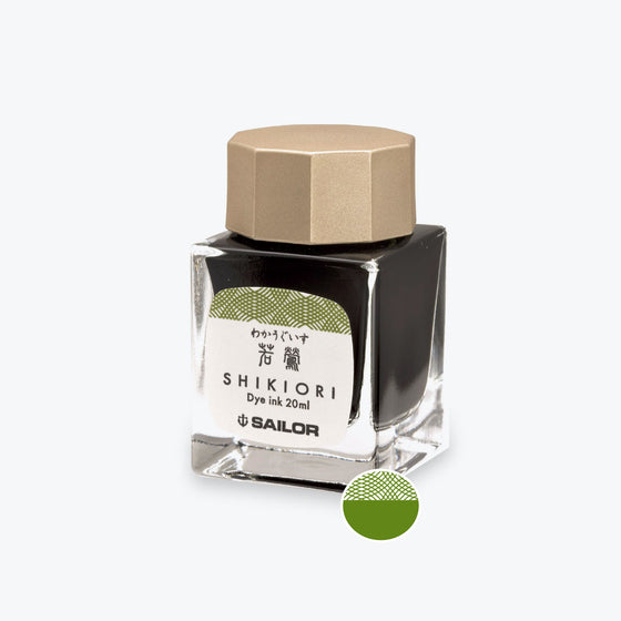 Sailor - Shikiori Ink 20ml - Waka Uguisu