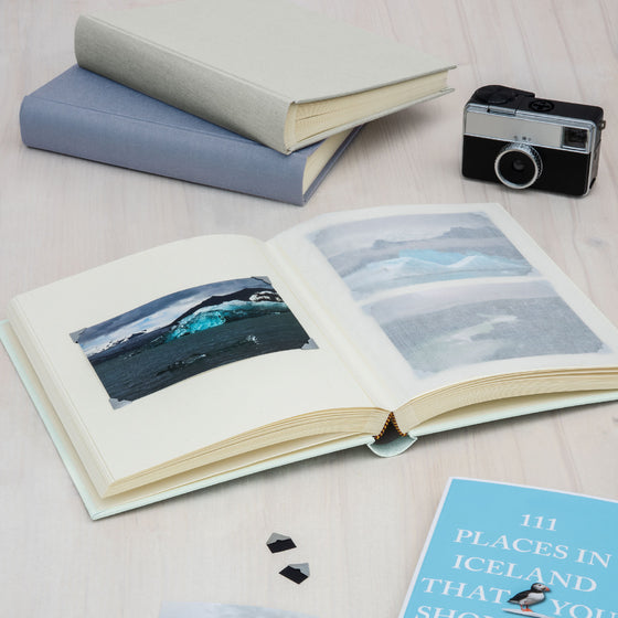 Semikolon - Photo Album - Classic - Large - Marine