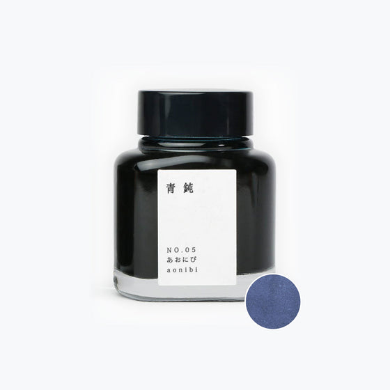 TAG - Fountain Pen Ink - Kyo no Oto - Aonibi #5