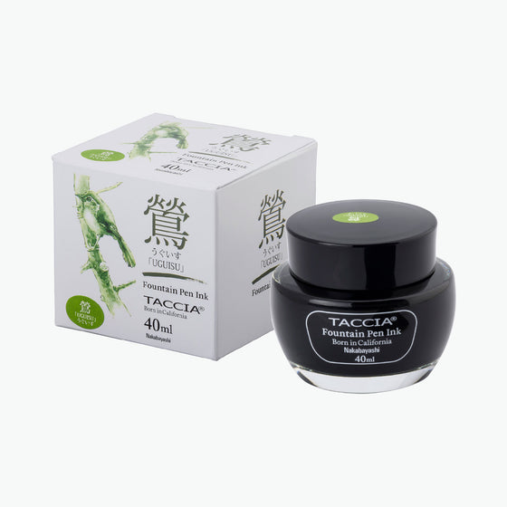 Taccia - Fountain Pen Ink - Standard - Uguisu (Olive Green)