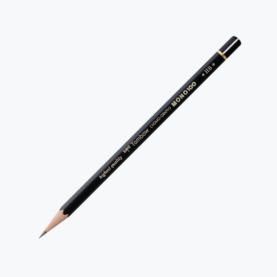 Tombow - Pencil - Mono 100 (Various Grades) - Pack of 2