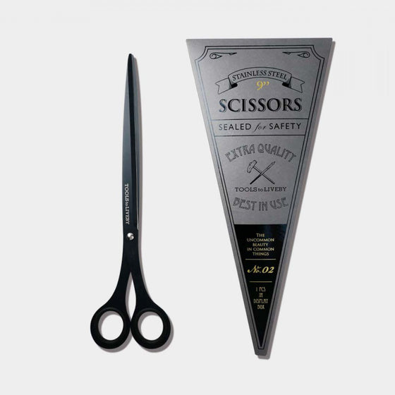 Tools to Liveby - Scissors - Large - Black