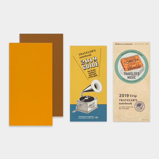 Traveler's Company - 2019 Diary Insert - Regular - Weekly Vertical