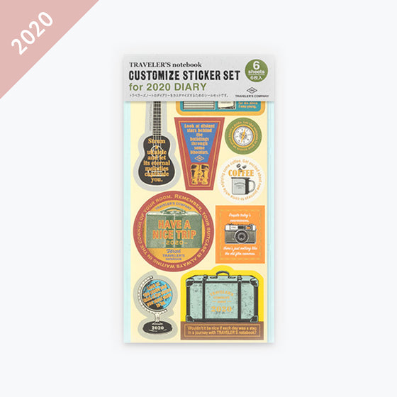 Traveler's Company - 2020 Diary - Insert - Sticker Set