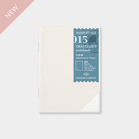 Traveler's Company - Inserts - Passport - 015 Watercolour Paper