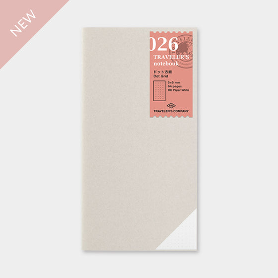 Traveler's Company - Inserts - Regular - 026 Dot Grid