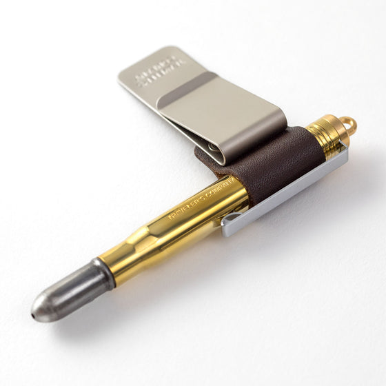 Traveler's Company - Pen Holder - 016 - Brown