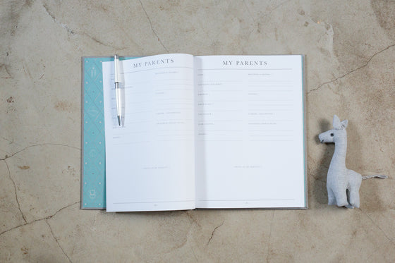 Write To Me Journal - Birth To Five Years