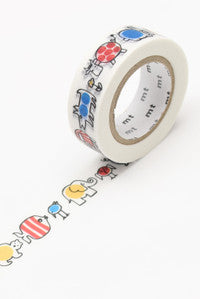 MT FAB Masking Tape (Washi Paper) - Single Roll (Lisa Larson)