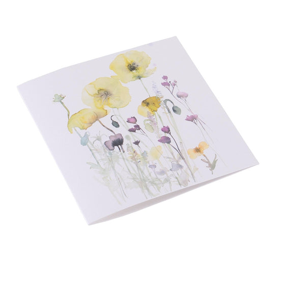 Bookbinders Design - Card - Flowerbed 1 by Toril Baekmark
