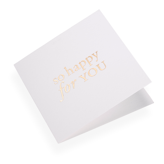 Bookbinders Design - Card - So Happy For You