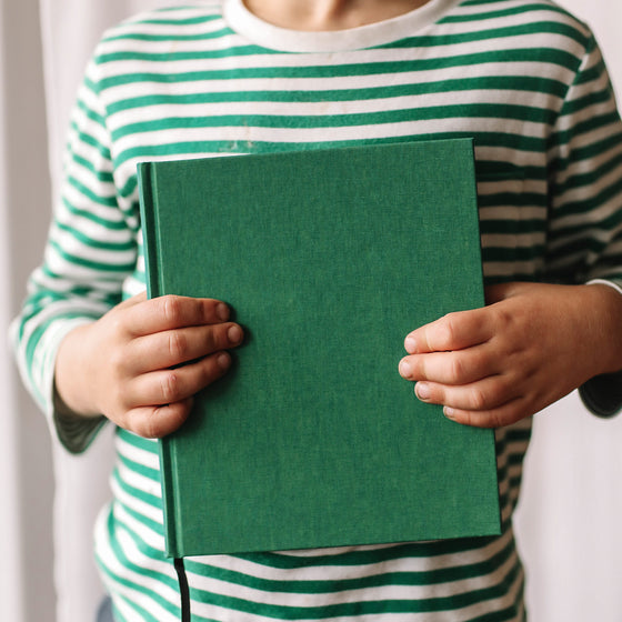 Bookbinders Design - Cloth Notebook - Large - Pepper <Outgoing>