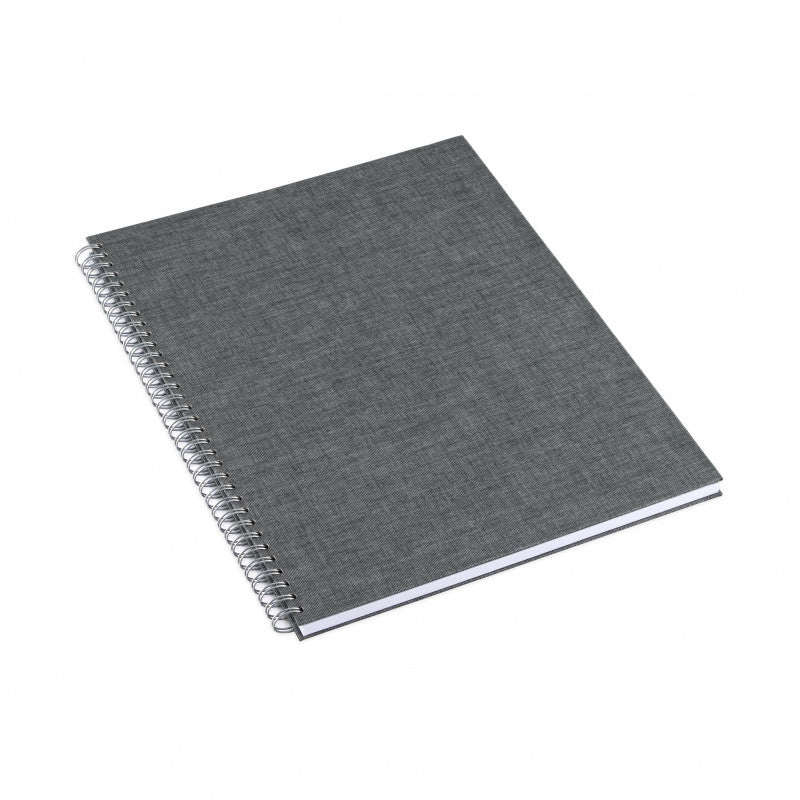 Notepad Cloth Wire-O (Hard) A4