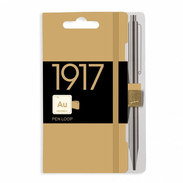 1917 Metallic Gold Pen Loop