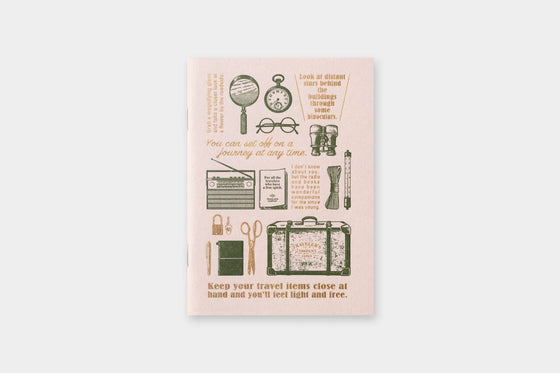 Traveler's Company - Travel Tools Passport Refill