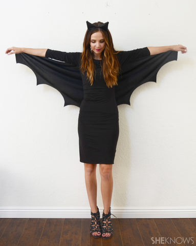 DIY bat costume from She Knows blog