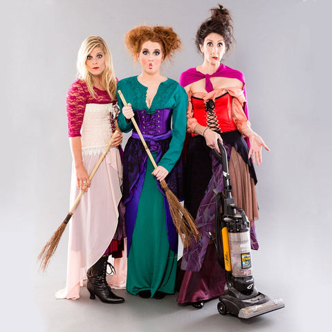 Sanderson Sisters dressed up for Halloween from Britco