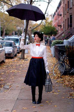 Keiko Lynn's modest Mary Poppins outfit
