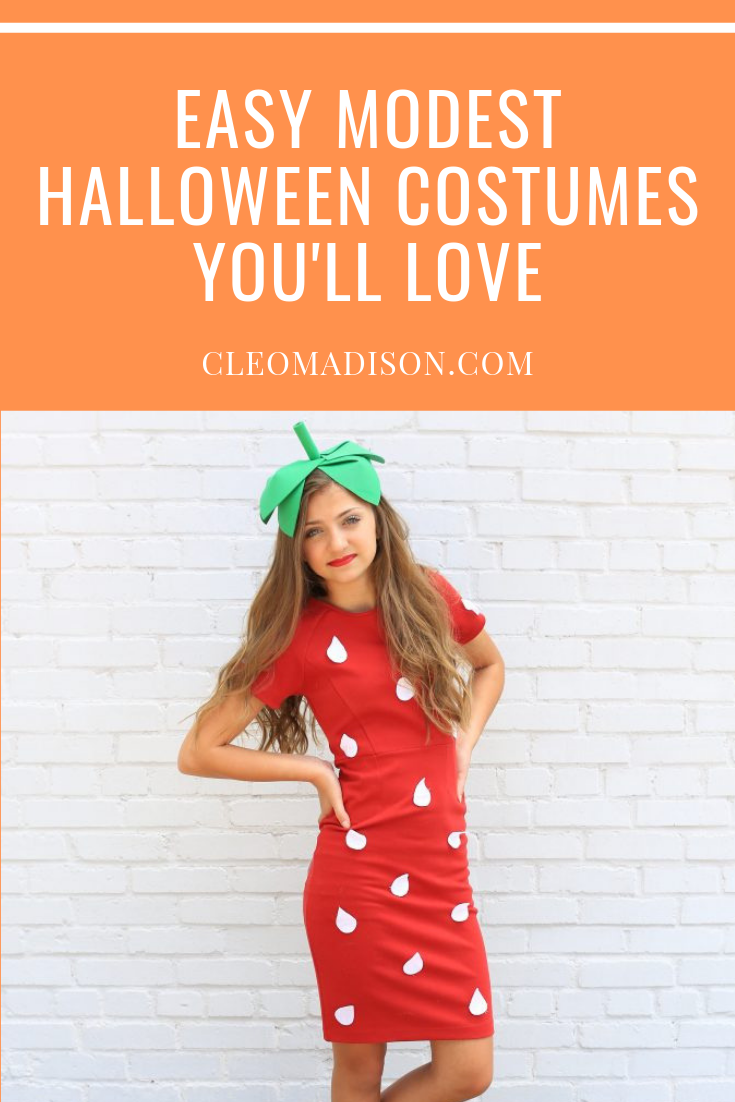 List of modest Halloween costumes for women
