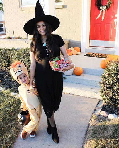 Modest witch costume
