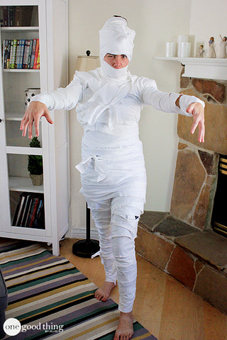 Do it yourself adult mummy costume