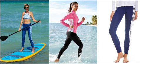 examples of swim leggings