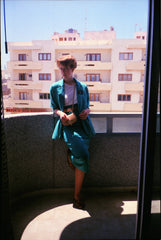 A picture of Angela Clayton when she was on her LDS mission in the Canary Islands.