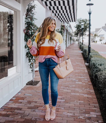 Modest fashion blogger Corrine Stokoe