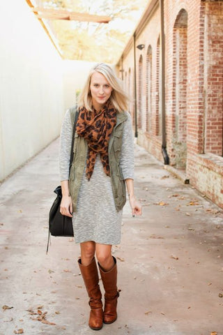 Modest fall outfit