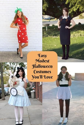 19 easy modest halloween costumes youll love cleo madison list of modest halloween costumes for women solutioingenieria Gallery