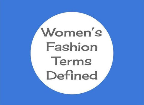 list of fashion terms to know