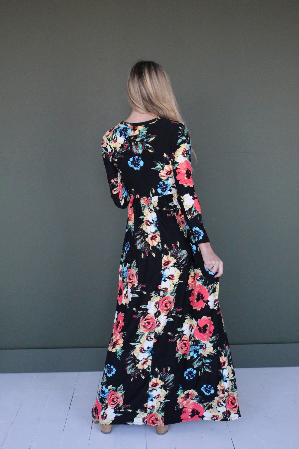 Alice Floral Maxi Dress