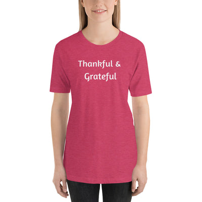 Thankful and Grateful Tee