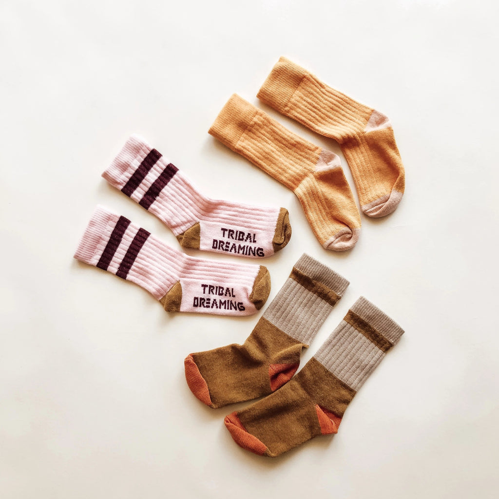 Sock Twin Pack - Sunshine and Hunter RRP $24