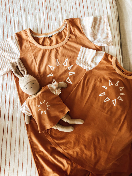 Mama, Child and Baby Doll Sun Lover Set