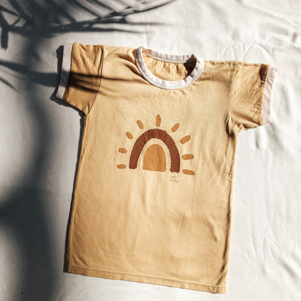 Sunrise Rainbow Tee