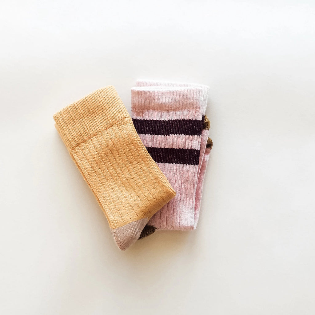 Sock Twin Pack - Sunshine and Chaser RRP $24