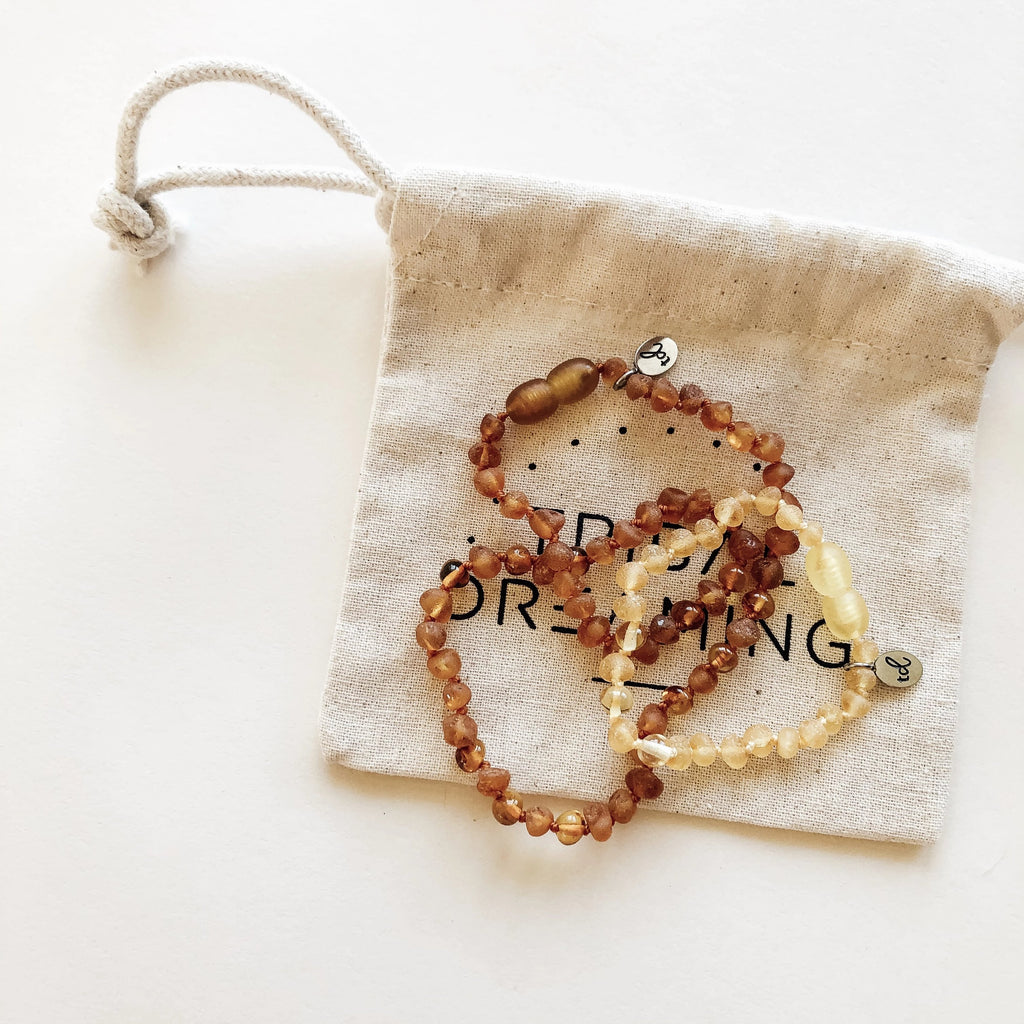 BABY Gift Bundle // Starseed Amber Necklace + Starseed Amber Anklet RRP $61