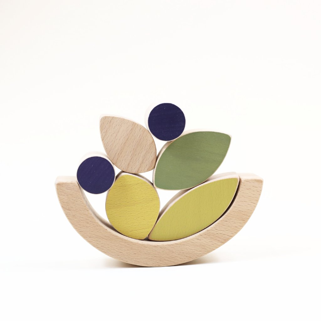 50% Leaves & blueberries stacking and balance toy