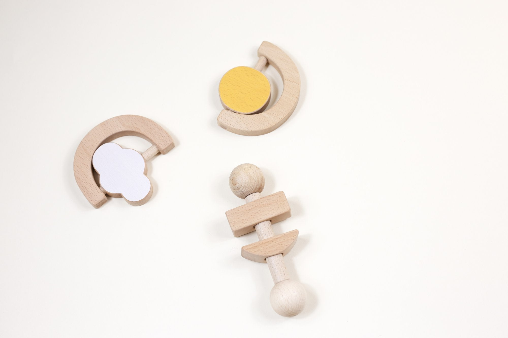 WOODEN TEETHERS & TOYS
