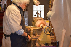Carl at Wood Lathe