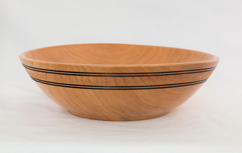 Medium Hand Turned Cherry Bowl