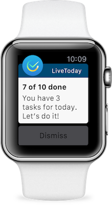 LIVETODAY | Productivity App