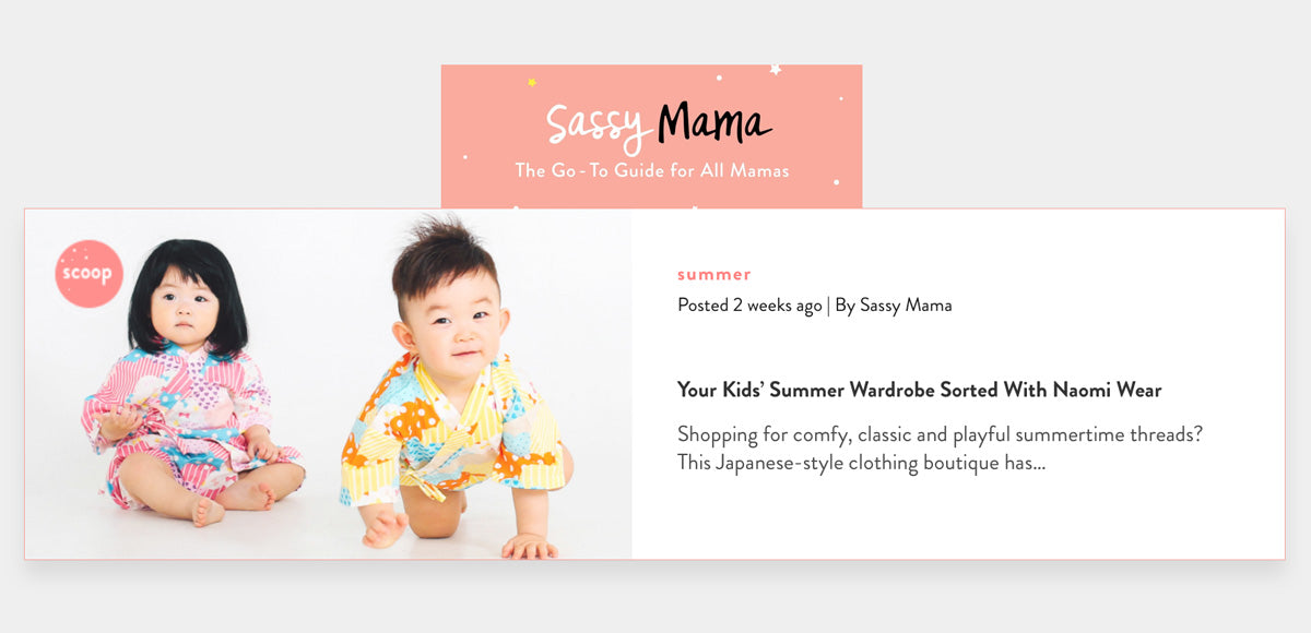 Naomiwear on Sassy Mama