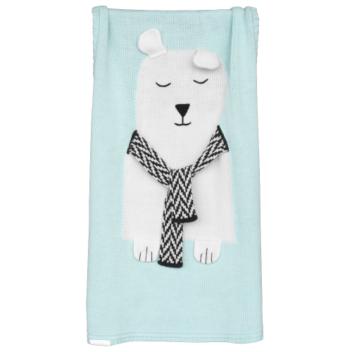 Bear Blanket (Mint)
